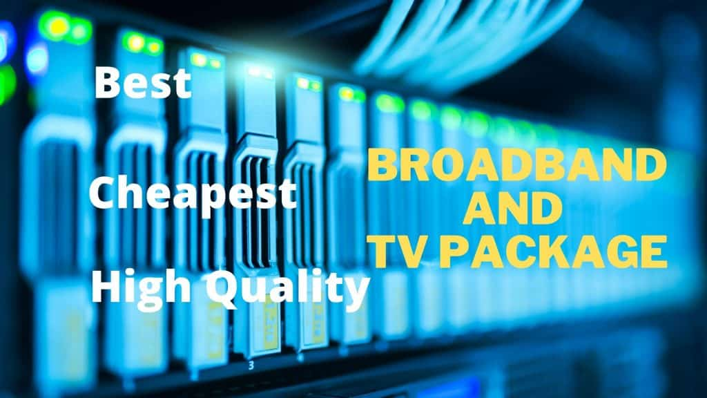 Cheapest Broadband and TV Package,M100 Fibre Broadband