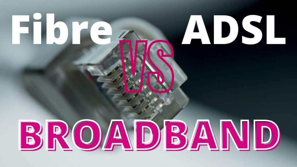 Difference Between Optical Fibre Broadband and ADSL Broadband