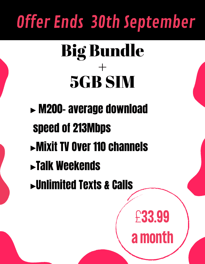 cheapest broadband and tv package